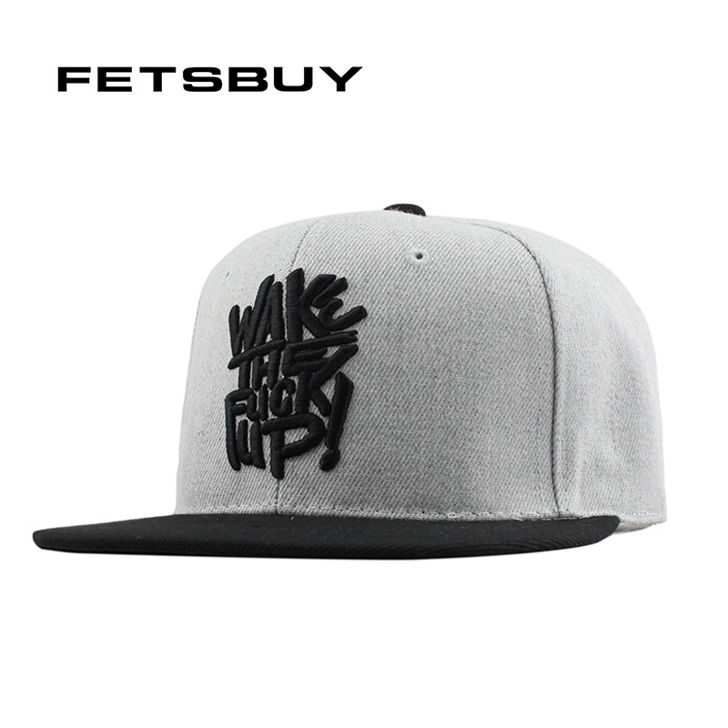 все цены на  FETSBUY Gorras Planas Hip Hop Cap Snapback Hip Hop Hat Men Basketball Cappelli Hip-Hop Metal Swag Mens Snapbacks 2016 New  онлайн