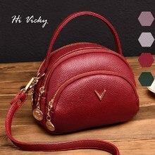 e1f2cfeb0 Nuevo bolso bandolera para mujer 2019 Mini bolso de hombro rojo para mujer  con solapa de cuero PU bolsos de mensajero para mujer.