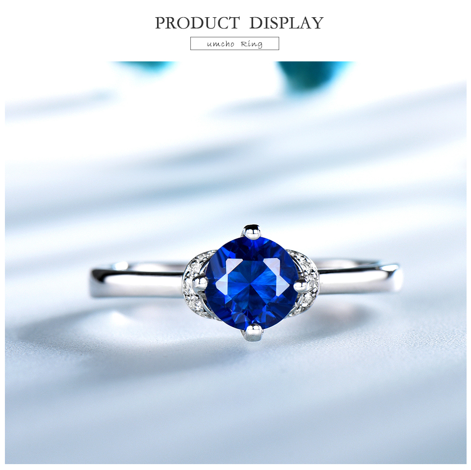 Honyy Sapphire 925 sterling silver rings for women RUJ090S-1-pc (3)