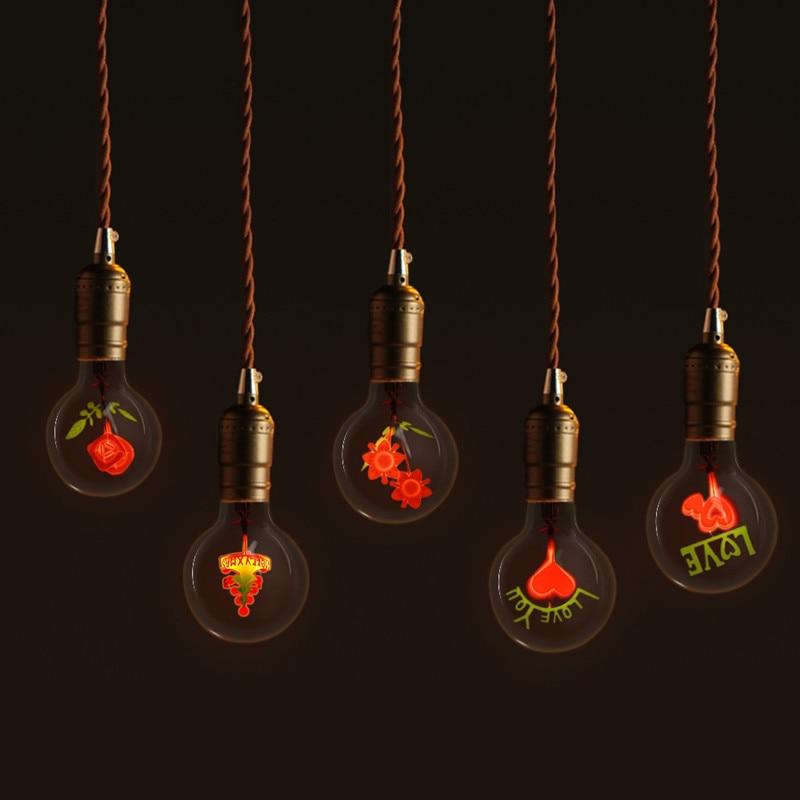 Lampadine Incandescent Bulb G80 E27 Vintage Edison Lamp ...