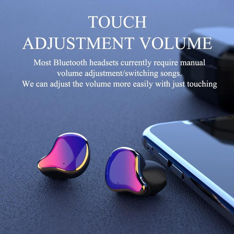 Image 5 - TWS G01 Bluetooth 5.0 Earphones Binaural Touch Control Wireless Earbuds Stereo Heavy Bass Headphones Waterproof Sports Headset-in Bluetooth Earphones & Headphones from Consumer Electronics