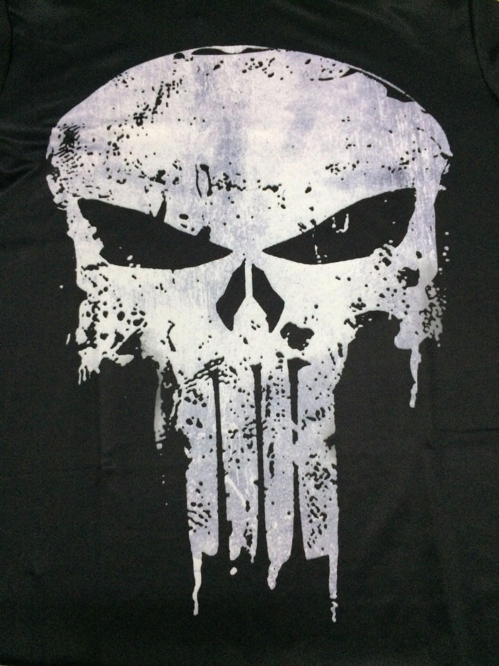 Punisher 3D Printed T-shirts Men Compression Shirts Long Sleeve Cosplay Costume crossfit fitness Clothing Tops Male Black Friday 21