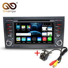 Android 7.1 2GB RAM Car DVD player Radio For Audi A4 2002-2008 Car GPS Multimedia Navigation With Canbus WiFi 4G Radio Free Map