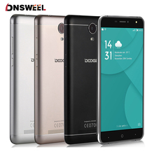 Doogee x7 pro 4g smartphone 6,0 zoll hd ips mtk6737 quad core Android 6.0 2 GB RAM 16 GB ROM 8MP Metallrahmen 3700 mAh handy