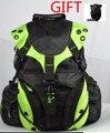 Moto motocross motocicleta que compite con casco de montar mochila impermeable herramienta de viaje bolsas de equipaje de la motocicleta mochila bolsa