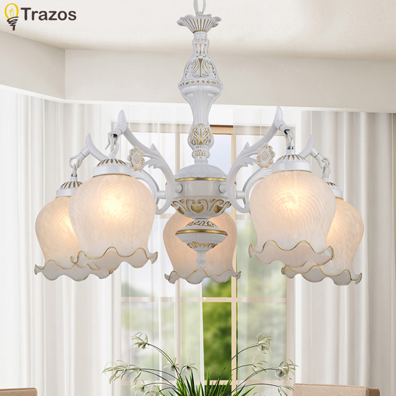New Hot genuine zinc vintage flowerliker lamp LED Chandelierl ights Top novelty Indoor Lights wedding decoration foyer lamp