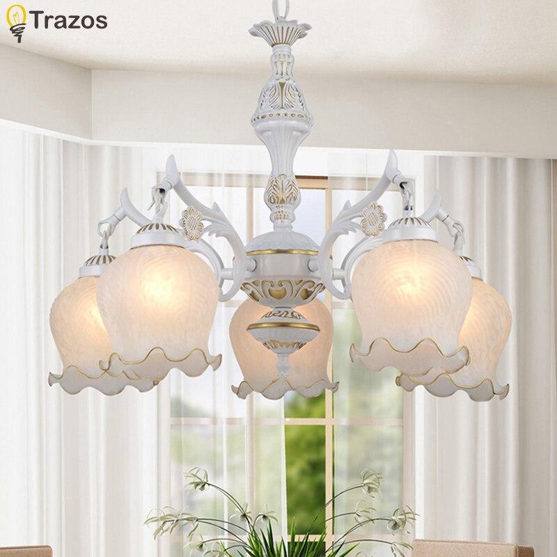 Új forró eredeti cink szüreti virágtartó lámpa LED csillárok