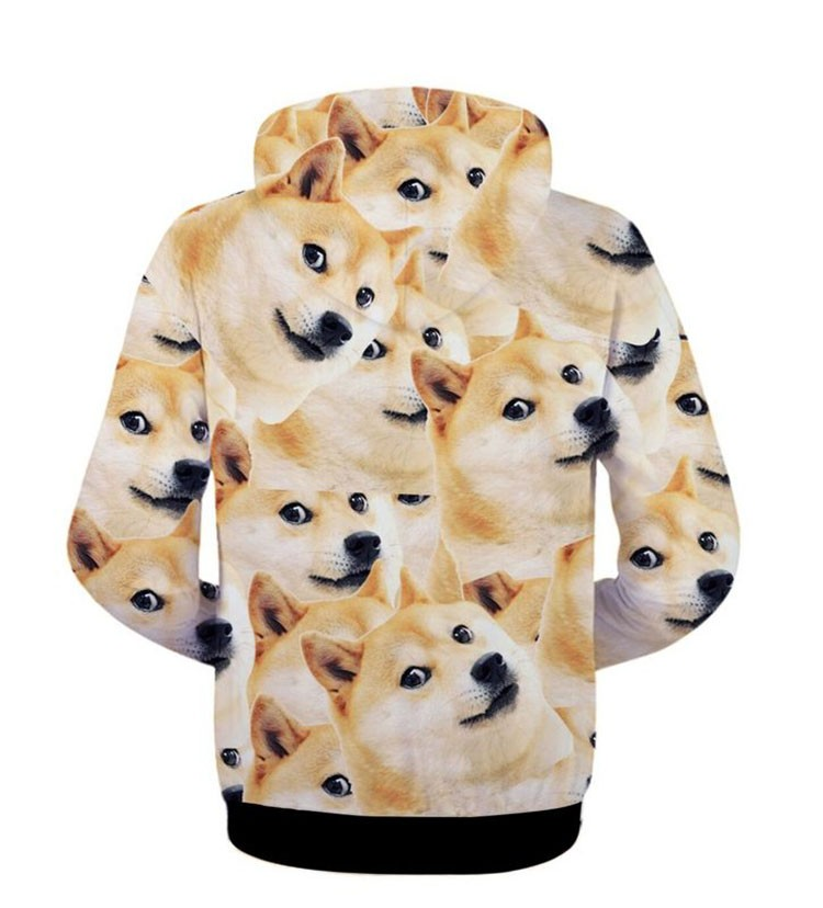 3D Hoodies Sweatshirt Men Harajuku Cute Funny Dog Cat Wolf Tiger Lion Panda Animal Print Hoodie Sportswear Autumn Coat Outerwear (72)
