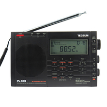 TECSUN PL-660 Radio PLL SSB VHF AIR Band Radio Receiver FM/MW/SW/LW Radio Multiband Dual Conversion TECSUN PL660
