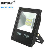 BUYBAY 10W 20W 30W 50W LED Floodlight DC12V 24V 80V Brand Outdoor Lighting Projector Reflector lamp Ship Boat yacht Flood Light(China)