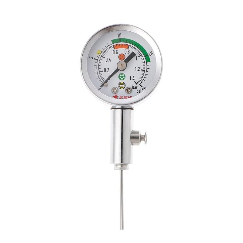Soccer Ball Pressure Gauge Air Watch Football Volleyball Basketball Barometers