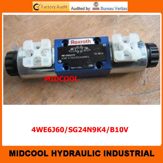 high quality hydraulic valve  4WE6J60/SG24N9K4/B10V