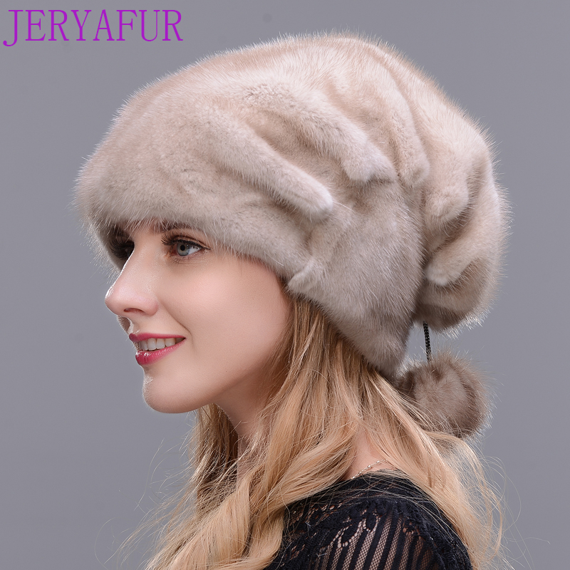 New Style Women's Whole mink fur hat winter wholesale real muffle 2017 fashion luxury maid hat high quality fur cap new 2014 cool wrc sport style car whole
