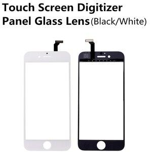 Image 3 - חדש שחור לבן מסך מגע Digitizer לוח זכוכית עדשה עבור iPhone 6 6s 6S בתוספת זול תצוגת קדמי החלפת חלק תיקון חלק