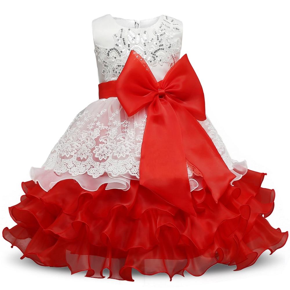 Pailletten Formale Abendkleid Blume Hochzeit Prinzessin Kleid - Kinderkleidung - Foto 1