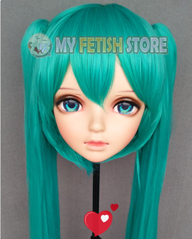 female Sweet Girl Resin Half Head Kigurumi Bjd Mask Cosplay Japanese Anime Role Lolita Mask Crossdress Doll Mask Available In Various Designs And Specifications For Your Selection Costumes & Accessories miao-9 Boys Costume Accessories