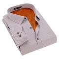 5XL 6XL 7XL 8XL Плюс размер Вечернее Платье Тепловой Рубашки 2016 Высокого Качества Большой размер Мужчины Одежда импортированы-одежда Человек Зимой рубашка