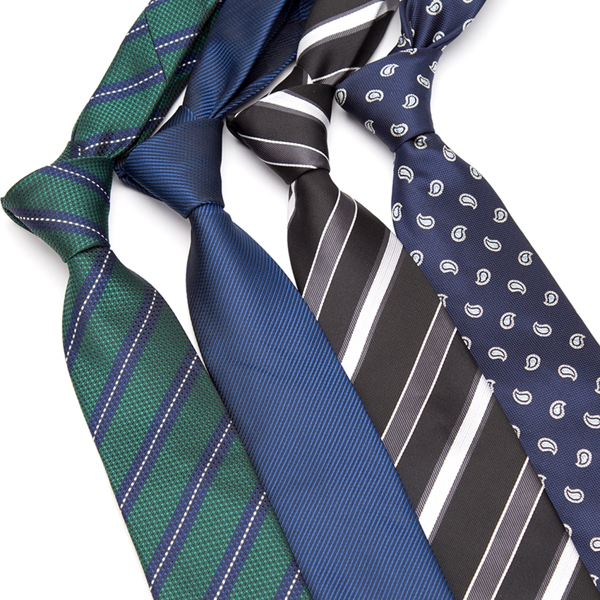 "Hot 7CM Mens Ties 57/"" Sky Blue Striped Wedding Silk Tie Man Necktie Accessories"