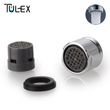 TULEX Faucet Aerator 18MM Male Attachment on Crane SUS304 Spout Bubbler Filter Kitchen Accessories Stainless Steel Full Flow