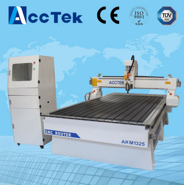 Wood Working CNC Engraving Router Machine with Aluminium Table