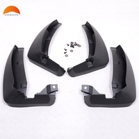 For RENAULT KOLEOS 2008 2009 2010 ABS Plastic Mudguard Dirt Guards Flaps Car Fenders Splasher Mudflap