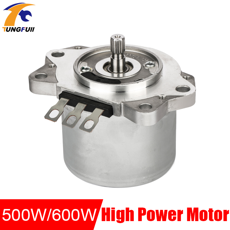 Power Tools Equipment Diy Accessories DC 500W/600W 12v 2400rpm Spin Becomes Large Magnetic Brushless Servo Motors image