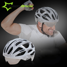 Rockbros Cycling Helmet Casco Ciclismo Ultralight Integrally-molded Bicycle Helmet Goggles Mtb Bike Helmet 3 Pair Lens