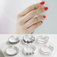 925 Sterling Silver Toe Rings 3