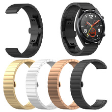 2018 New Popular Brand Luxury Stainless Steel Replace Link Band Strap for Huawei Magic/Watch GT/Ticwatch Pro
