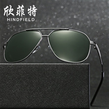 Men's Driver Mirror 11072 Metal Polarized Sunglasses Retro Sunglasses Wholesale Men Polarized Sunglasse free shipping  glasses