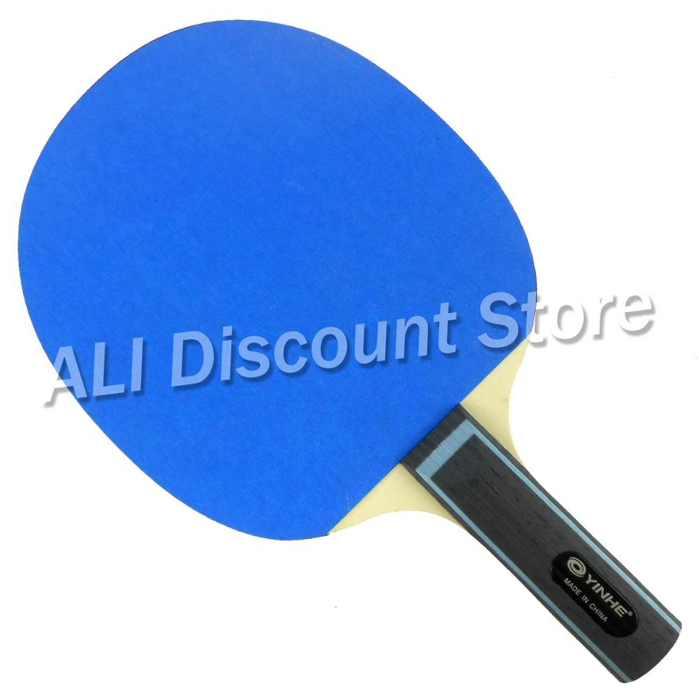 Galaxy YINHE Emery Papier Raquette EP-150 Papier de Verre Ping-Pong Paddle Long Shakehand ST
