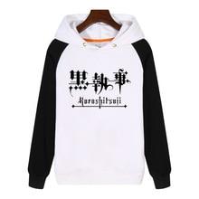 FOR Kuroshitsuji Black Butler Hoodies fashion men women Sweatshirts winter Streetwear Hip hop Hoody Sportswear GA609