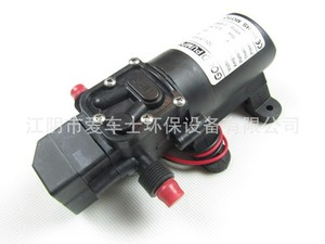 Image 3 - DC 12V 130PSI 6L/Min Water High Pressure Diaphragm Water Pump Self Priming Pump Automatic Switch 72W