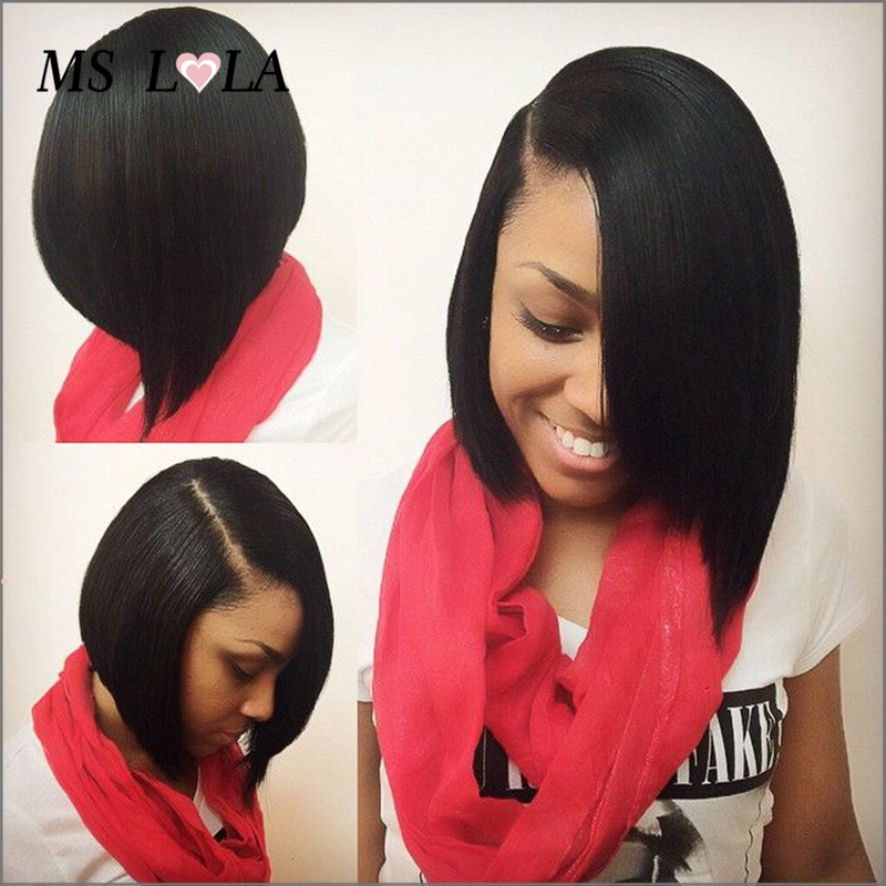 Hairstyles side part bob weave hairstyles with color