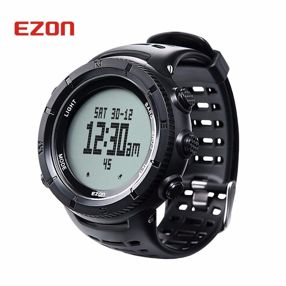 Мужские Цифровые часы LED NORTHEDGE мужские часы водонепроницаемые часы спортивные военные часы relogio masculino спортивные светодиодные наручные часы - 2