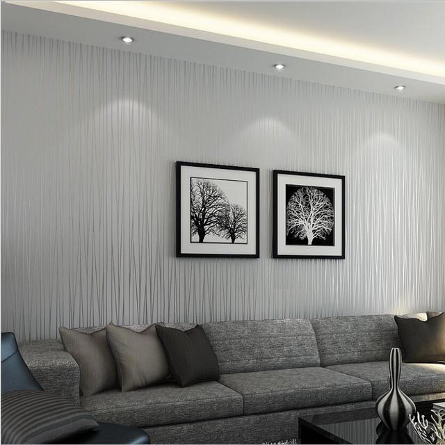 Hot Sale Beautiful Reflective Glitter Stripes Wallpaper Modern