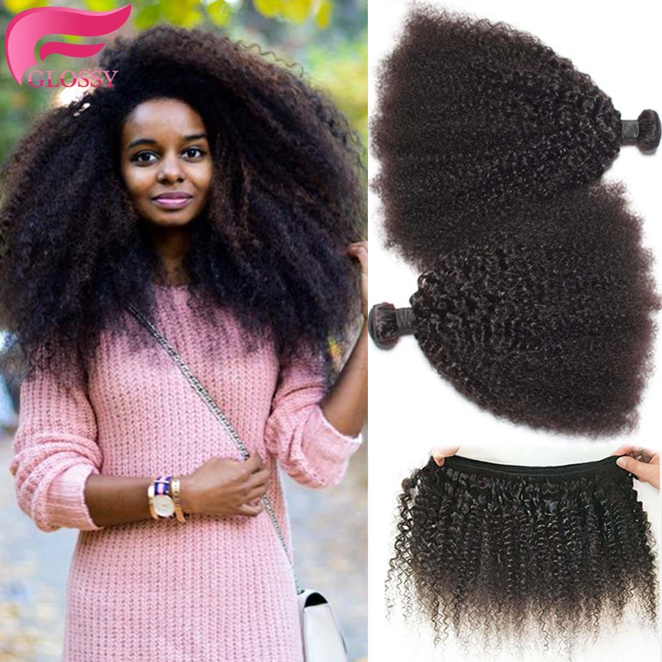 Mongolian Kinky Curly Hair Afro Kinky Curly 3pcslot Curly