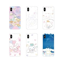 Cinnamoroll Aksesoris Ponsel Shell Cover untuk Samsung Galaxy S4 S5 Mini S6 S7 Edge S8 S9 S10 Plus Note 3 4 5 8 9(China)