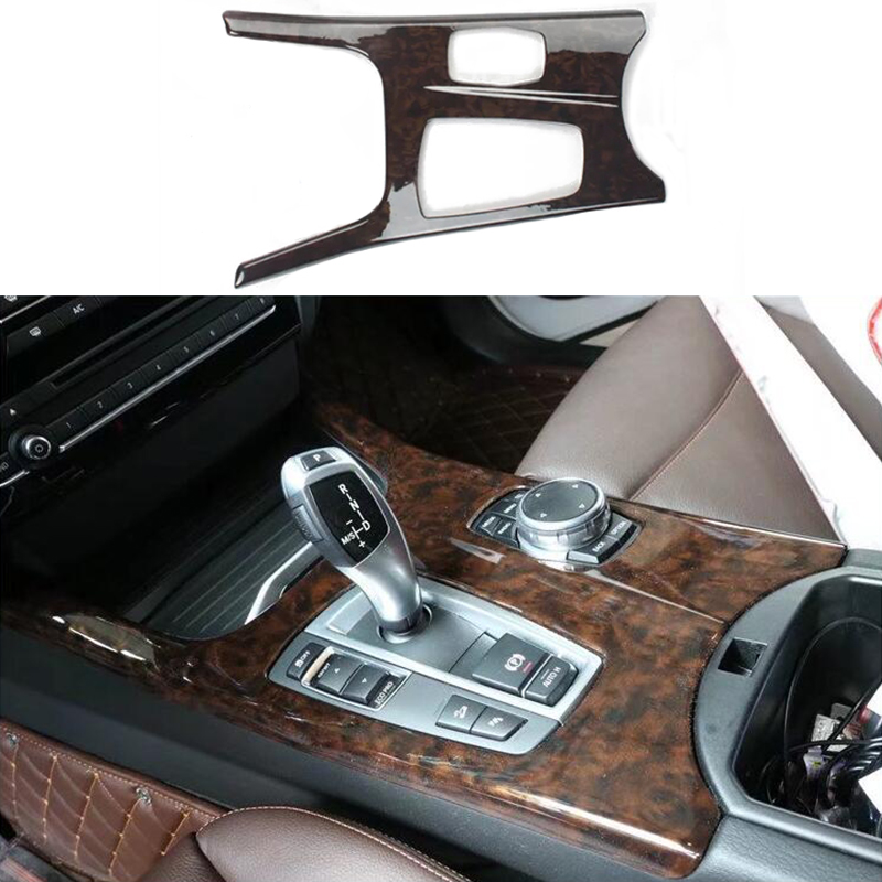 For BMW 5 Series F10 09-16 Interior Car Gear Shift Box Decoration Cover Trim ABS