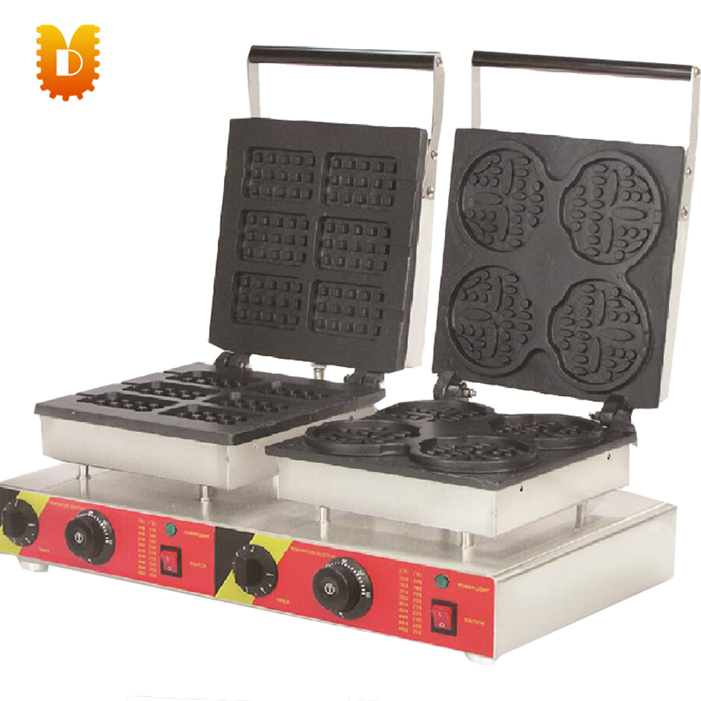 waffle maker electricity two different shape waffle making machine electricity market reform