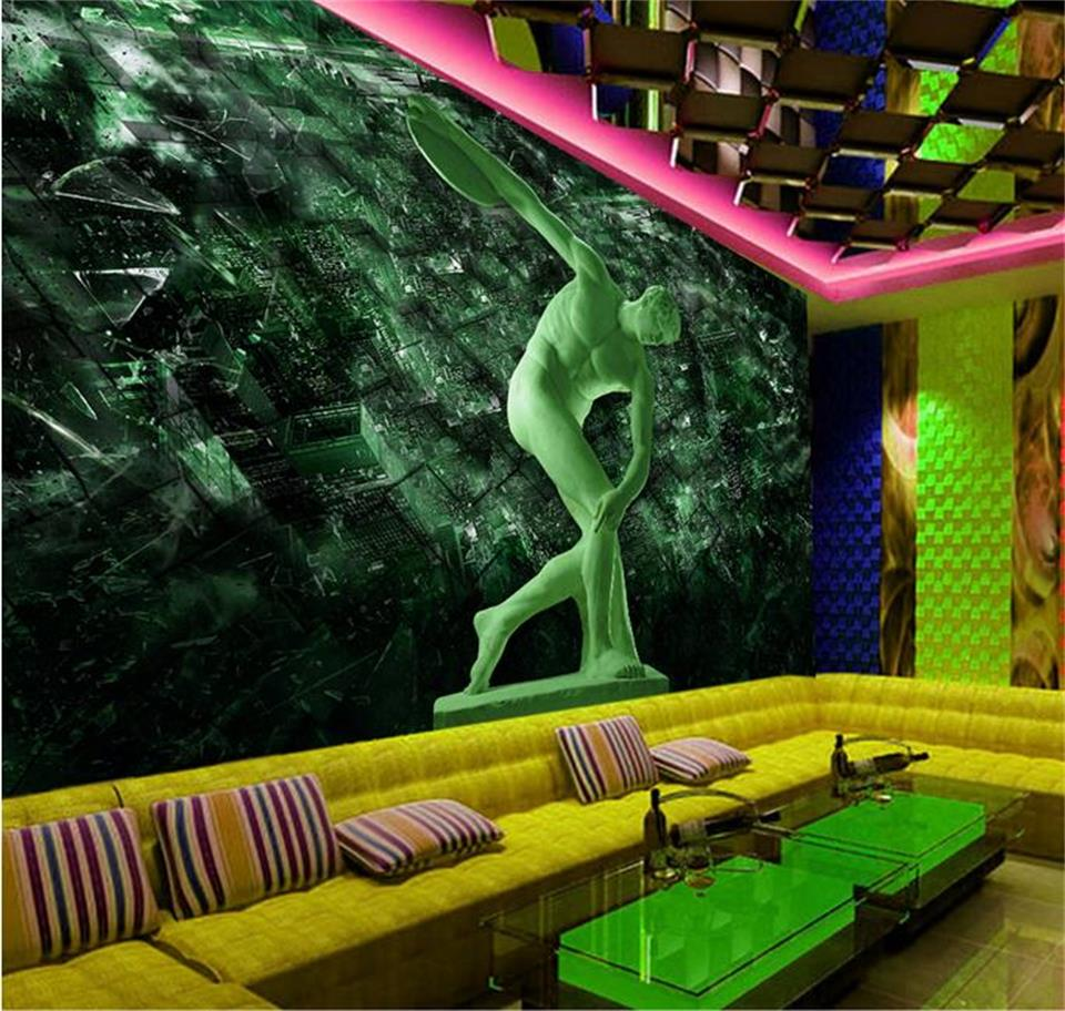 3d photo wallpaper custom mural living room greek sculpture Discobolus 3d photo painting sofa TV background wall non-woven mural custom mural wallpaper 3d stereo relief flowers jewelry photo wall painting living room tv sofa background wall paper home decor