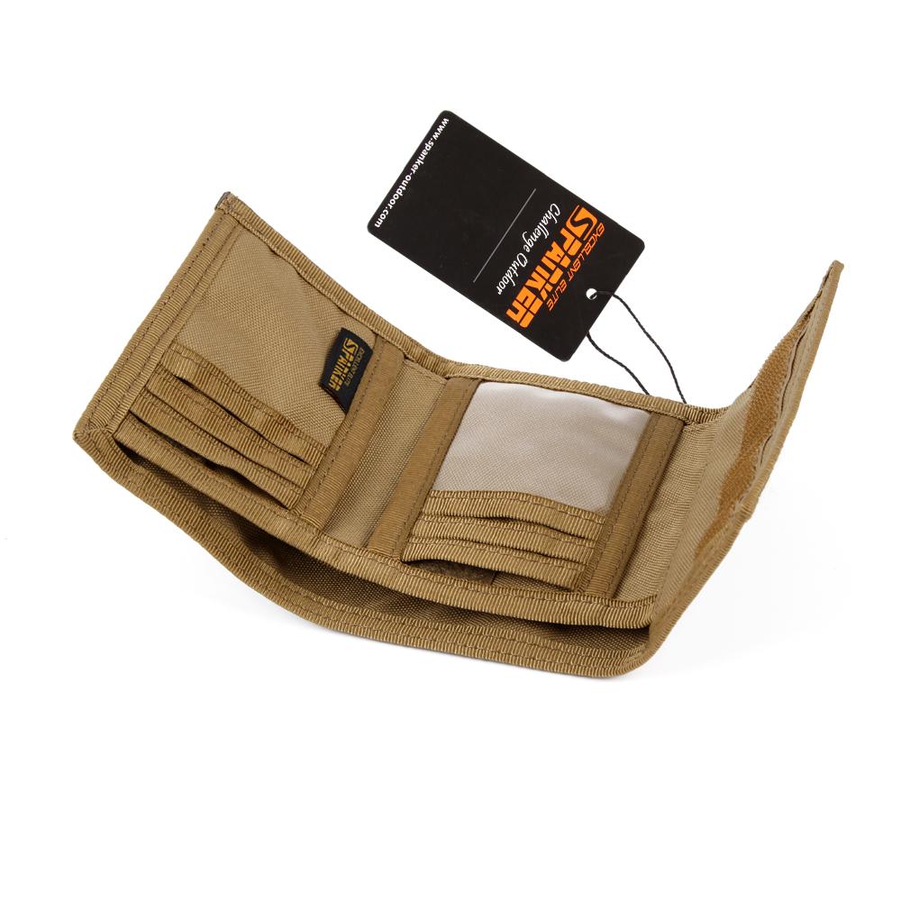 Превосходная элитная бизань военный стиль расширенный кошелек ВДГ досуг мужчины нейлон водонепроницаемый короткие бумажник универсальный мешок денег