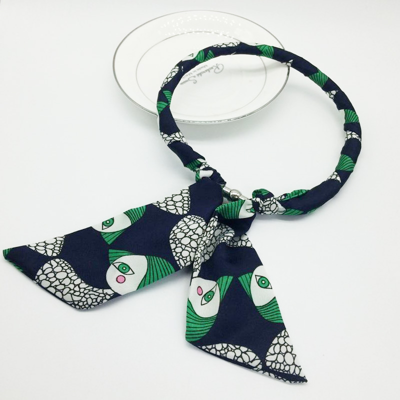 Fashion Bohemia Necklace New Arrival Totem Print Green ...