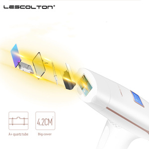 Image 2 - Lescolton 700000 kez 3in1 Depilador bir lazer IPL epilatör epilasyon LCD ekran makine lazer kalıcı Bikini giyotin