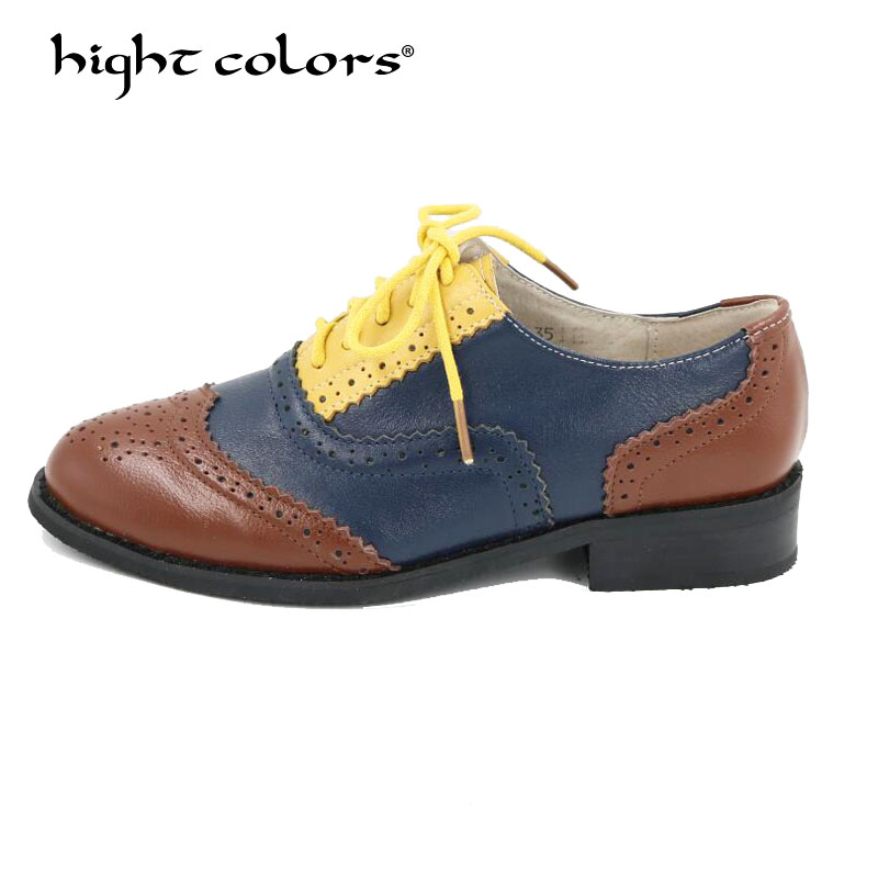 yellow White Chaussures Doux Couleurs Bonbons Richelieu brown Red Blue black Plat En black White Green Femme Couture De D'été White Mocassins Cuir pink Patchs Brown blue Gray Femmes Véritable Red red red Brown 2018 yellow Appartements Beige fwq5n7zgvz
