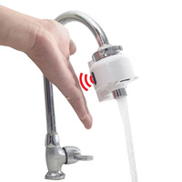 Bathroom Kitchen Automatic Touch Free Sensor Faucets water saving Inductive electric Water Tap mixer battery power