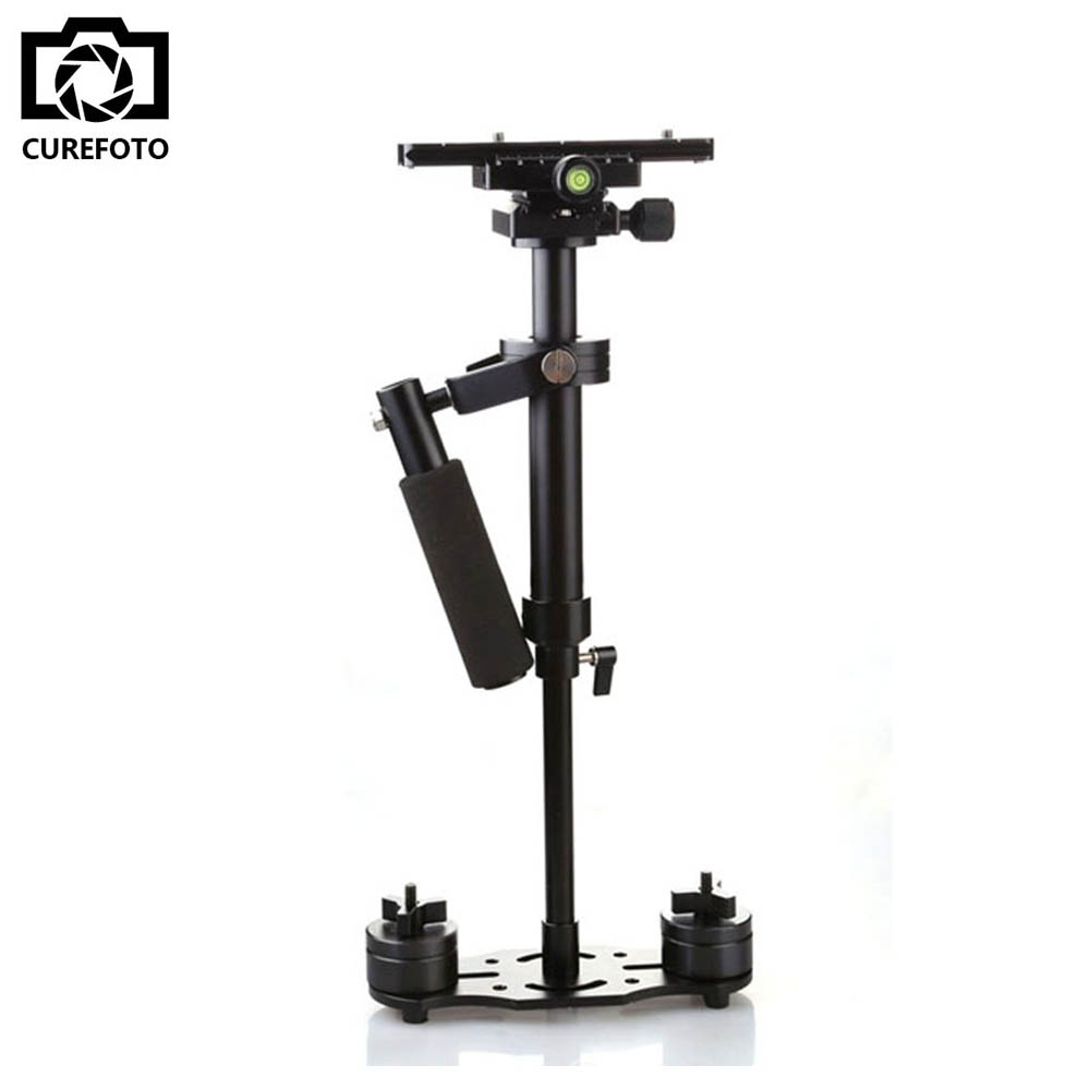 DHL New S40+ 0.4M 40CM Handheld Steadycam Stabilizer For Steadicam Canon Nikon Sony GoPro AEE DSLR Camcorder DV Video Camera s40 40cm professional carbon fiber mini dslr video camera dv camcorder stabilizer steadycam steadicam for canon sony nikon gopro