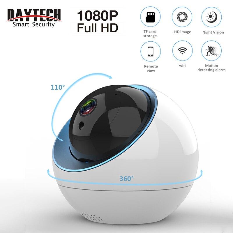 DAYTECH WiFi IP Camera Security CCTV Monitor Wireless Mini Cam P2P Two Way Audio Pan Tilt Cloud Auto Tracking Network Camera