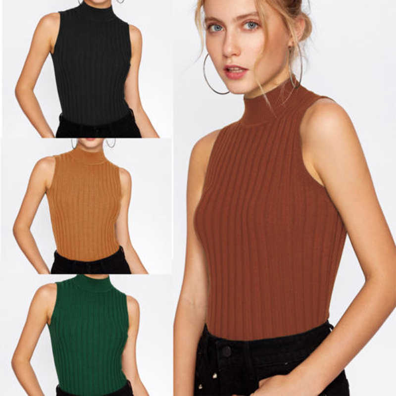 07a81c273f1a7e Detail Feedback Questions about Fashion 2018 Brand New Women Summer choker Vest  Tops Sleeveless Off The Shoulder Shirt Tank Tops Solid T Shirt Sexy on ...
