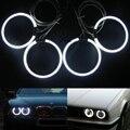 4 х 120 мм CCFL Angel Eyes Halo Кольцо для BMW E34/E32 Белый Синий красные Глаза Ангела Фары 520i 525i 530i 535i 540i M5 730iL 735i